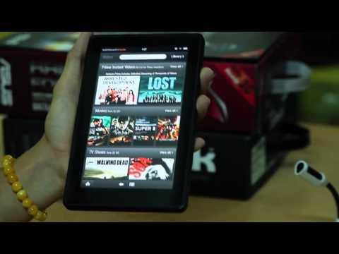 [Amazetestlab] - Giới thiệu Amazon Kindle Fire chính hãng tại Vietnam!!!