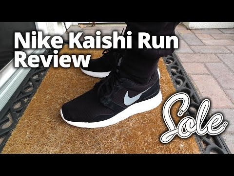 "nike chaussures air max - Nike Kaishi ""Black"" - YouTube"