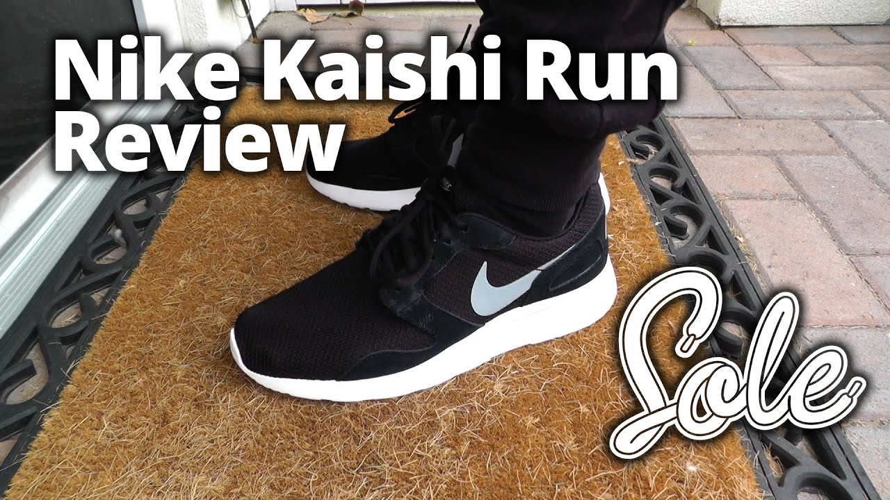 online retailer d4ed9 85cc0 Nike Kaishi Run Review   The Sole Supplier - YouTube