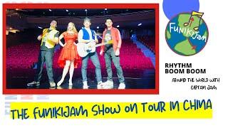 The FunikiJam Show: RHYTHM BOOM BOOM! on tour in China
