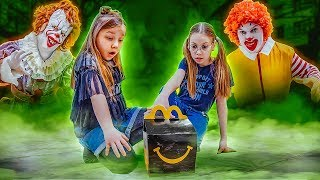 Black Happy Meal, Why I became fat!?! Pennywise is back!