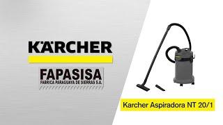 Aspiradora Industrial NT 20/1 - Kärcher FAPASISA Paraguay