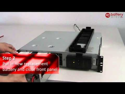 installation tutorial video for apc rbc22 rbc23 rbc24 rbc132 rbc133 rh youtube com  apc smart ups sc 1500 battery wiring diagram