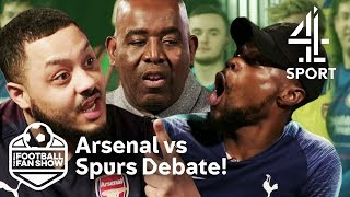 Spurs vs Arsenal & Liverpool vs Everton! FIERY DEBATE!! | The Real Football Fan Show