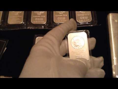 Sunshine Silver Bullion Bar Invest in Silver 2016 USA Dollar CHINA Recession Economic crash