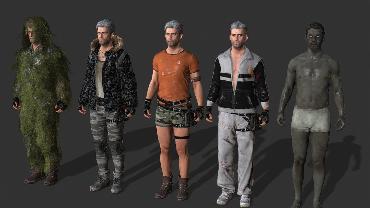 Iclone (PUBG 3D model + Animations) More (Preparing)
