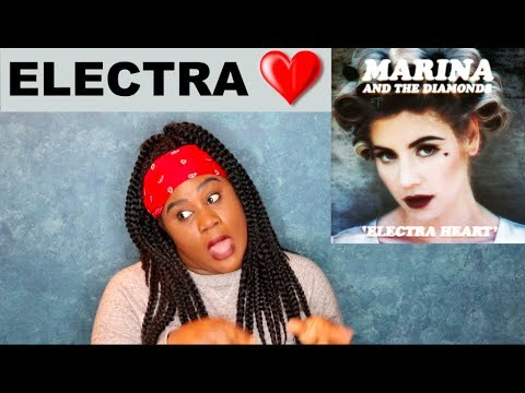 Marina and the Diamonds - Electra Heart Album |REACTION|