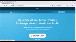 Embed TradingView charts in Blogger