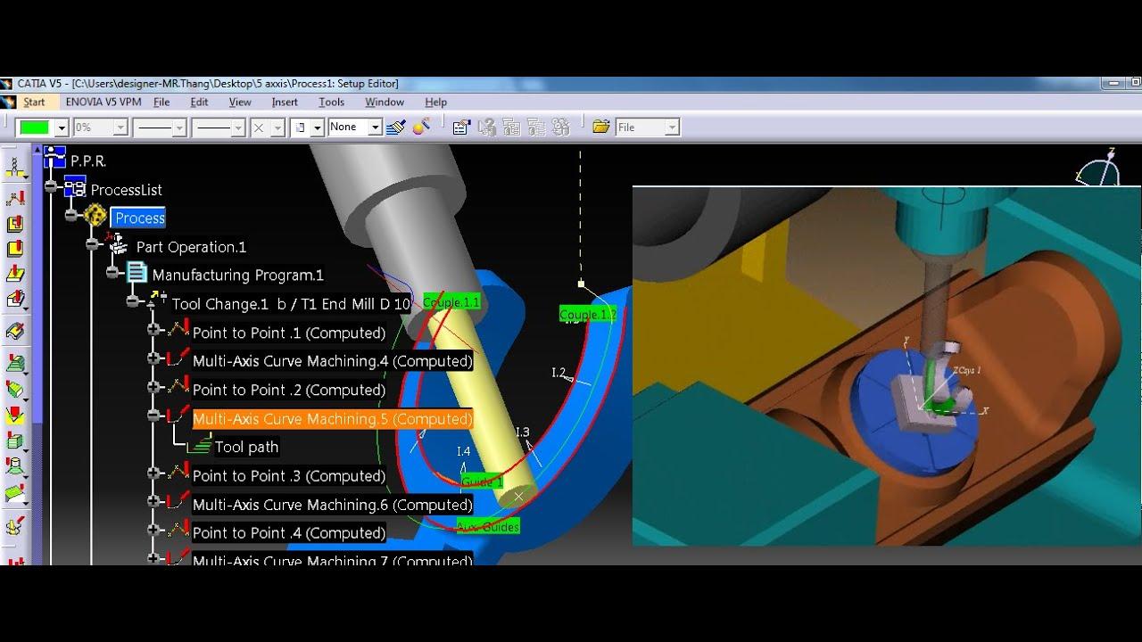 Catia turning machining tutorial cz. I youtube.