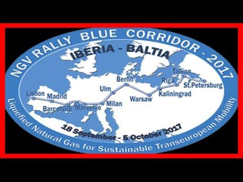 Breaking News | Gazprom's blue corridor rally has iberian launch