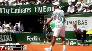 Rafael Nadal vs Novak Djokovic   Roland Garros 2013 SF Highlights HD
