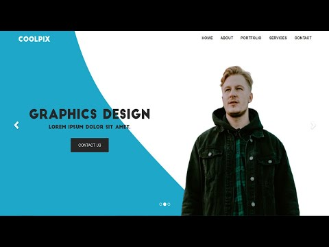 How to Create a Responsive Website using HTML and CSS | Homepage Design