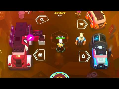 Save the city where stolen by robots! Experience Rogue-like Action-shooting RPG! 'SUPER CLONE'