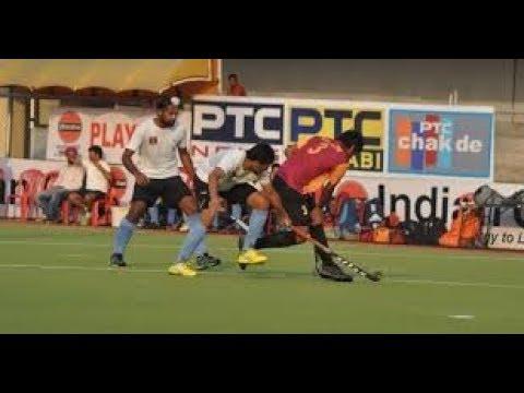 SURJIT HOCKEY CUP 2017() | Indian Railways Delhi V/S ONGC Delhi