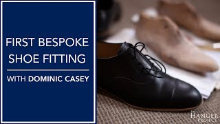 First Bespoke Shoe Fitting with Dominic Casey 👞 | Kirby Allison