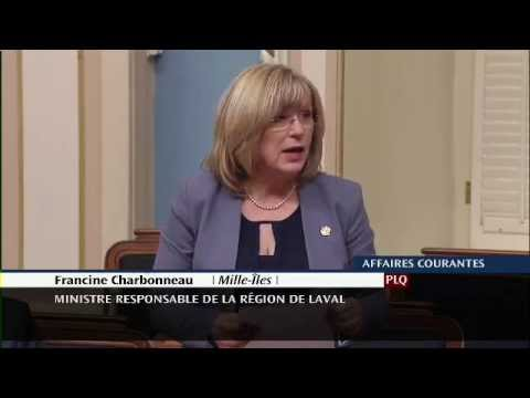 Francine Charbonneau - Déclaration de député - Journée de l'Appui 2015 (24/03/2015)
