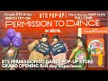 BTS POP-UP PERMISSION TO DANCE in SEOUL Grand Opening First Day Experience: Full Tour & Merch Try-On