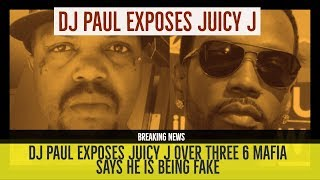 DJ Paul CALLS OUT JUICY J over Three 6 Mafia Brother and EXPOSES HIM on Twitter