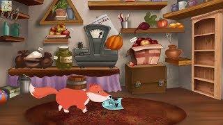 Лисица и Маска басня Эзопа. Видео для детей онлайн, мультики на детском канале как сделать мультик.