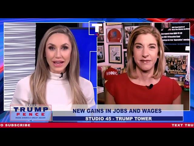 Tana Goertz Interviewed by Lara Trump