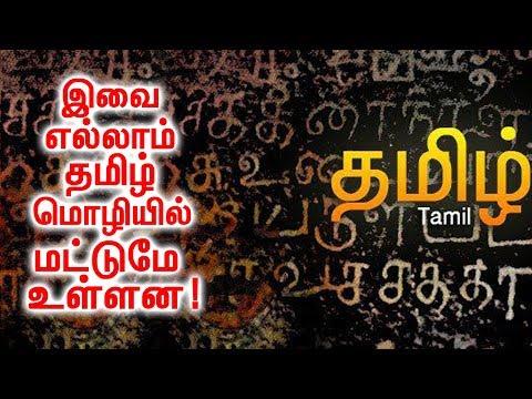 இந்த சிறப்புக்கள் எல்லாம் தமிழ் மொழியில் மட்டுமே இருக்கிறது! | Specialities of Tamil Language!