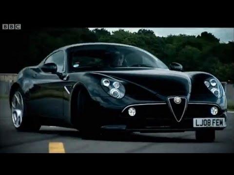 Can a car be art? - Alfa Romeo 8C - Top Gear - BBC