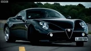 Can a car be art? - Alfa Romeo 8C - Top Gear - BBC