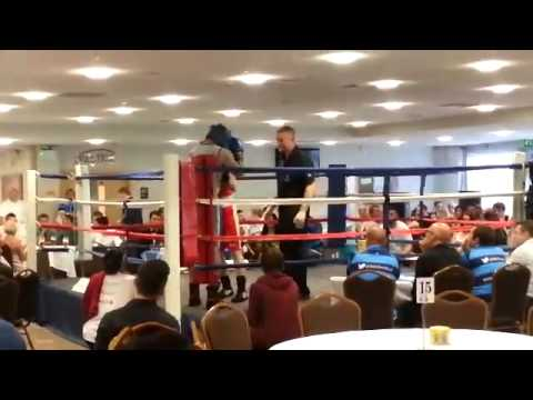 life for a kid boxing part1...jordon Collins vs Jordan Kingsley