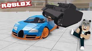 Hayalimizdeki Araba ile Kapışmaya Girdik!! - Panda ile Roblox Car Crushers 2