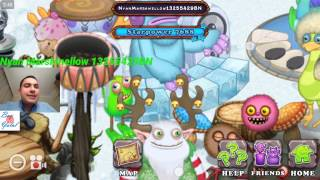 I've just visited Nyan Marshmellow's Monster Islands - My Singing Monsters