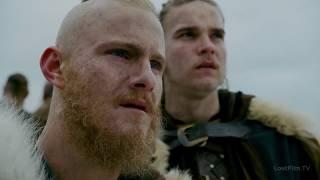 Викинги 4x16 - Один посещает сыновей Рагнара