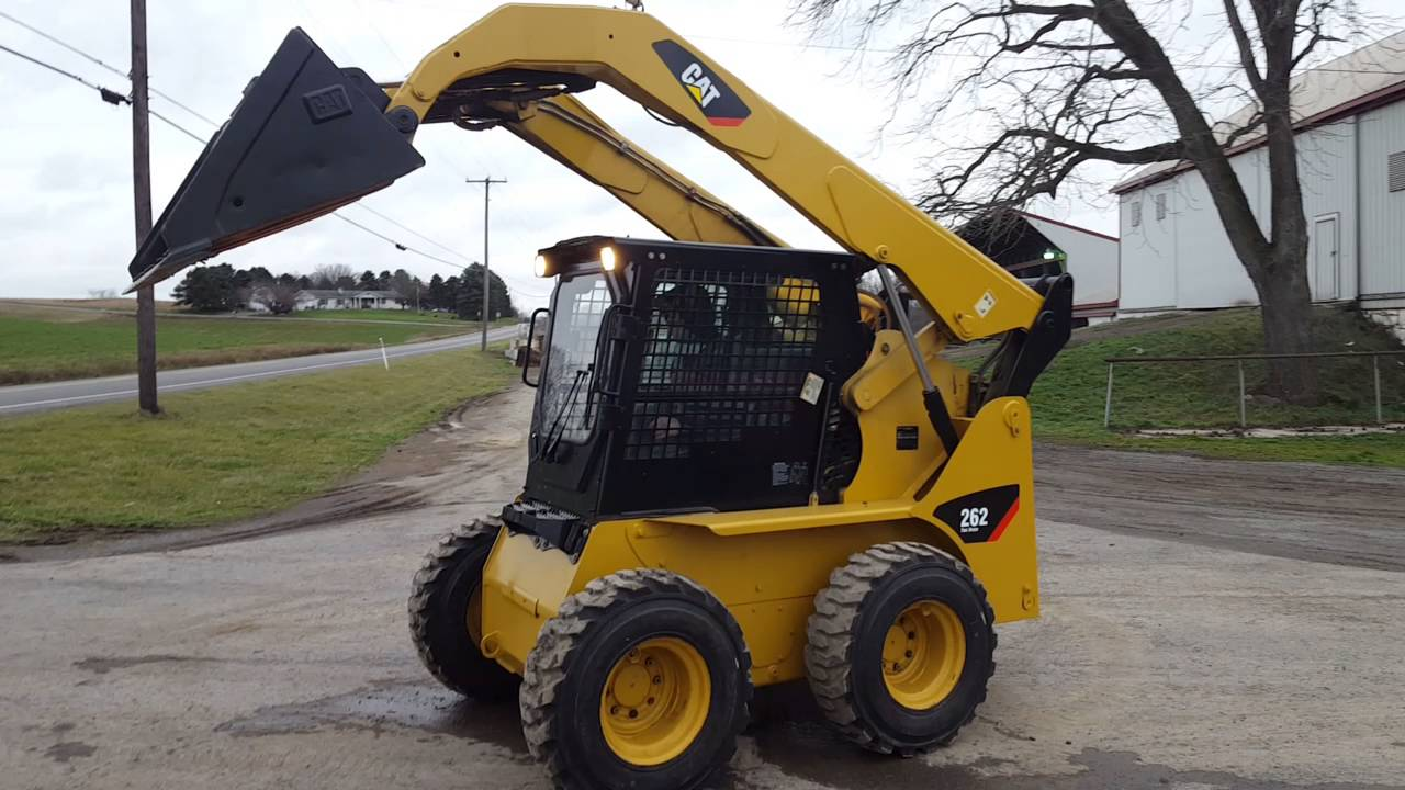 2002 Caterpillar 262 Skid Steer 2 Speed Joystick Controlled loader For Sale  Inspection Video!