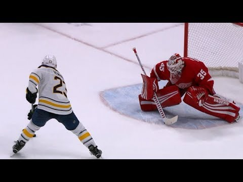 Red Wings and Sabres battle it out in a shootout
