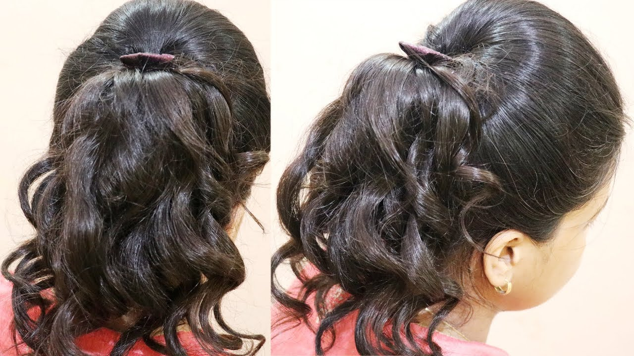 Hairstyles For School Girls With Curly Hair | Brunette Hairstyle ...