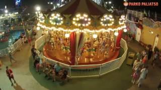 PARKO Paliatso LUNA PARK   Cyprus Biggest Funfair