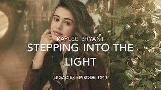 Stepping into the light - Kaylee Bryant (Audio + Lyrics)   Legacies (1x11)
