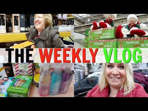 CHRISTMAS COSTCO COME SHOP WITH ME WITH MY MUM!