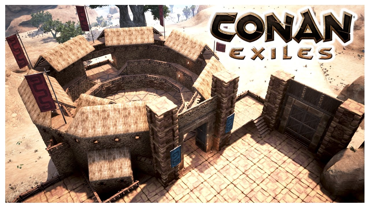 CONAN EXILES THE ARENA PART 1 Of 2 YouTube