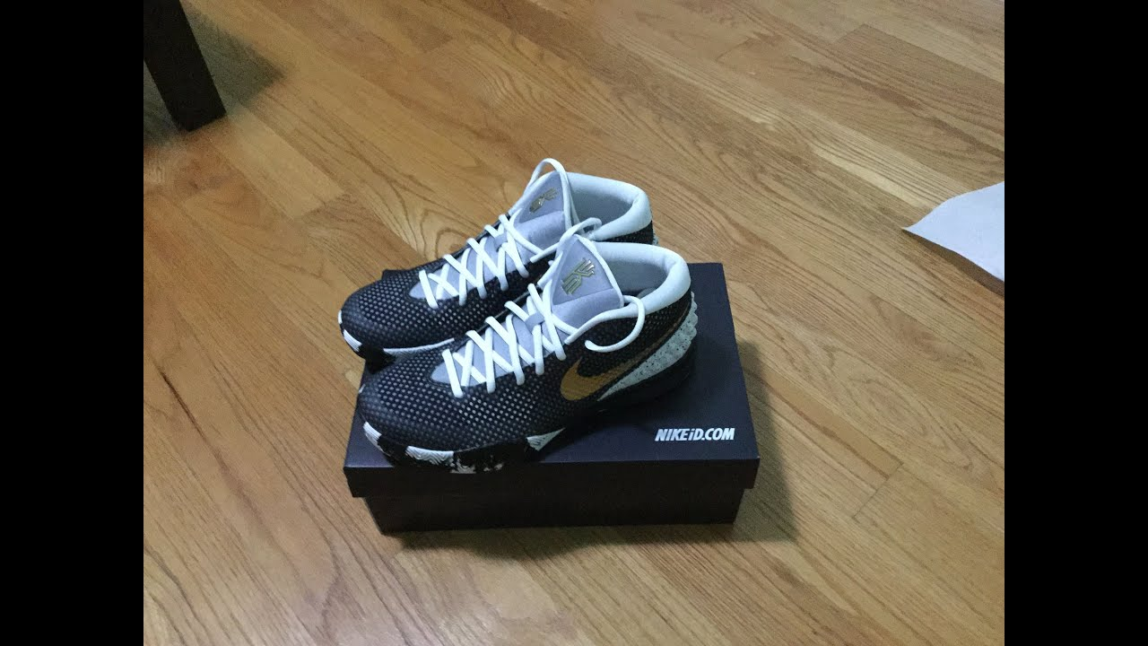 buy online 6c92a 2554e Nike ID   Kyrie 1 UNBOXING (COOL DESIGN)