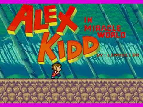 SEGA Mega Drive - Alex Kidd In The Raster Effect World (TECH DEMO) + DOWNLOAD