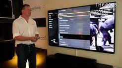 Panasonic TV TX-65 AXW 804 Kurzvideo - Thomas Electronic Online Shop