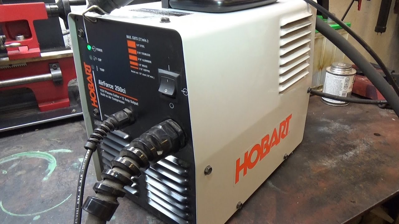 Hobart Airforce 12ci Plasma Cutter Review