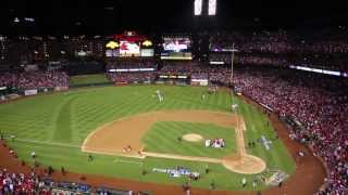 The St. Louis Cardinals win the 2013 NLCS against the Dodgers in game 6. Go Cards!