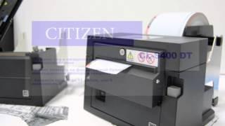 Билетный принтер CITIZEN CL S400DT(Билетный принтер CITIZEN CL S400DT для печати билетов, для печати этикеток. В продаже в ООО Сенсис: http://www.sensis.ru/catalog/p..., 2016-01-20T15:52:24.000Z)