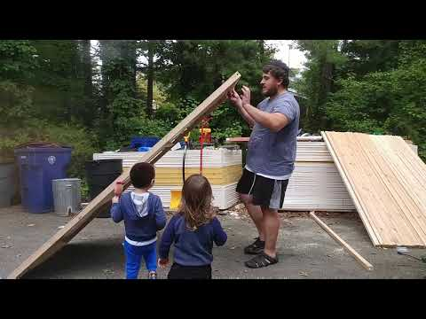 DIY Sukkah - $50 per 4x8 section - waterproof & lightweight - Part 2