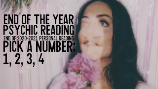 End of the Year 2020-2021 Psychic Reading~ Pick a Number