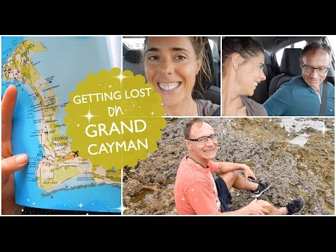 GETTING LOST on GRAND CAYMAN