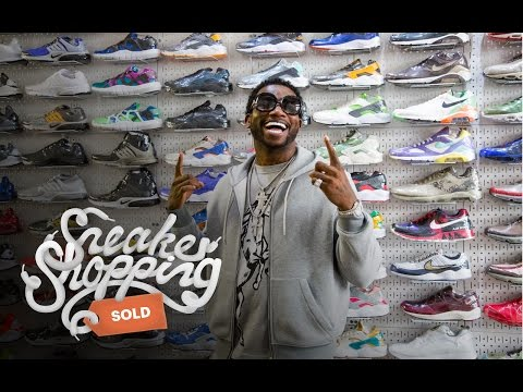 Gucci Mane Goes Sneaker Shopping with Complex