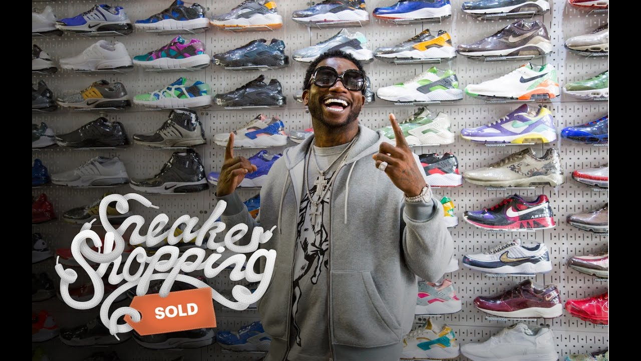 b5d221ff40a745 Gucci Mane Goes Sneaker Shopping with Complex - YouTube