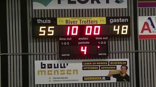 6 april 2019 Rivertrotters MSE vs Binnenland MSE2 72-63 3rd period